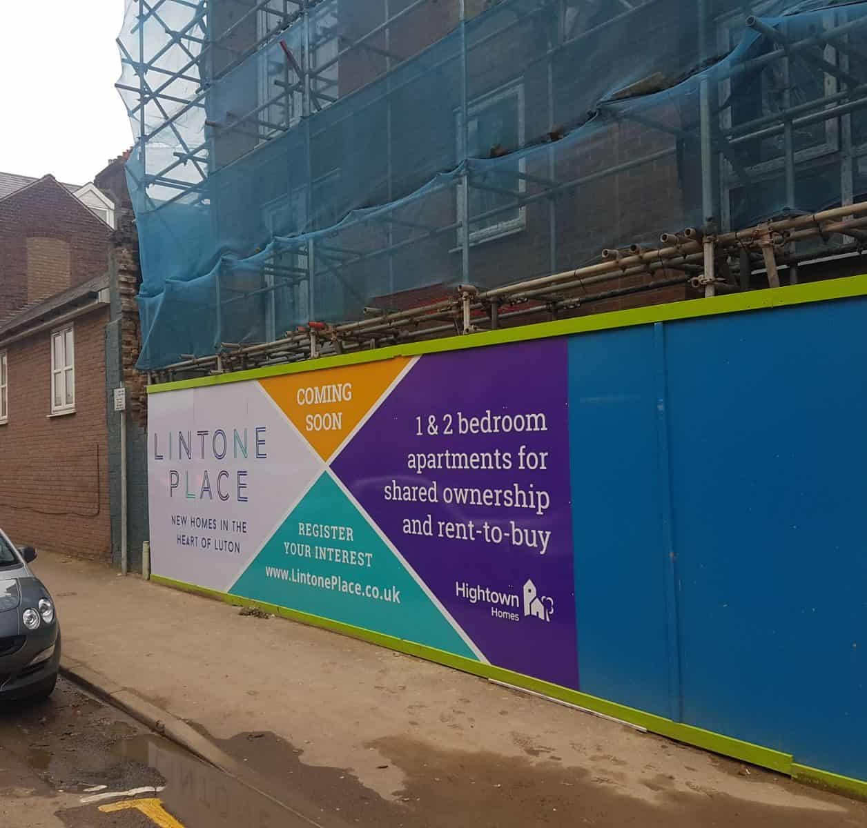 Site Hoardings Lintone Place