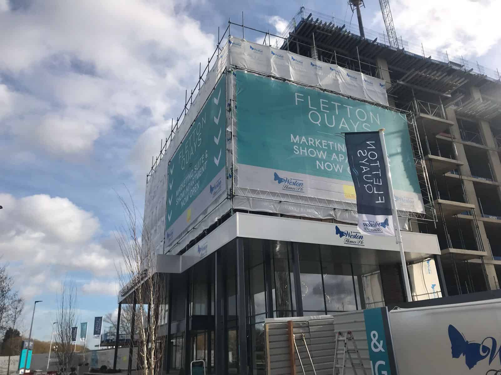 Building Wrap Fletton Quay