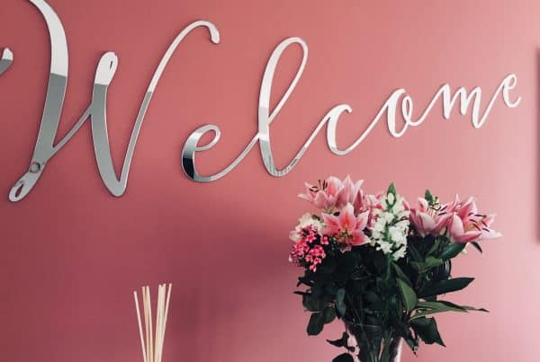 Welcome Internal Signage