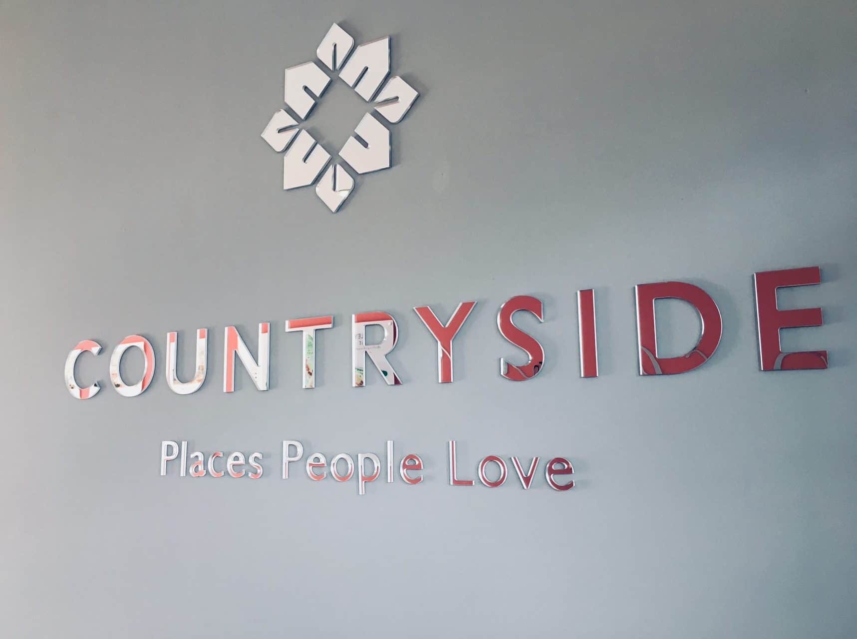 Countryside Silver Internal Signage