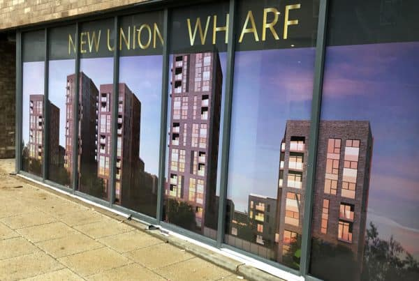Union Wharf Window Graphics